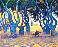 Paul Signac - Place des Lices