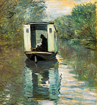 Monet - Boat Studio