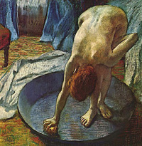 Degas - The Tub I (Woman Bathing in a Shallow Pan)
