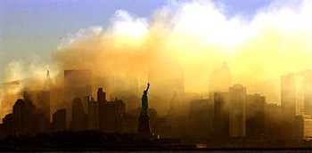 New York City on 9/11